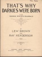 That's Why Darkies Were Born