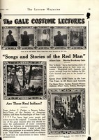 Songs and Stories of the Red Man