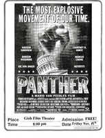 """Black Student Union's Film Screening """"Panther"""" in 1995"""