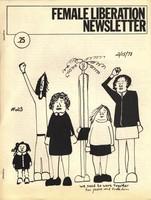 Female Liberation Newsletter (cover)