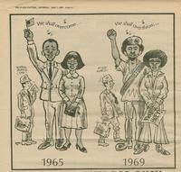 Cartoon p. 18 Black Panther Newspaper