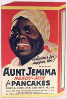 Aunt Jemima product logo from its beginnings in 1893
