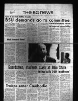 BG News, May 1, 1970, Black Student Union's Demands